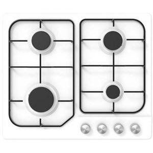 אונליין כיריים גז 4 להבות בישול Midea 60G40ME401-SFN - צבע לבן