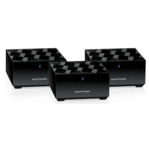 אונליין  (3 ) NETGEAR NIGHTHAWK AX1800 802.11ax Dual Band Wireless Mesh System MK63