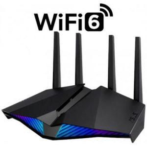 אונליין   Asus RT-AX82U 802.11ax Dual Band Wireless 6