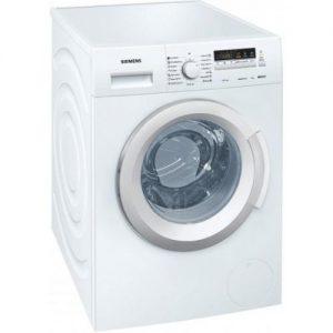 אונליין מכונת כביסה פתח חזית 8 ק''ג 1200 סל''ד Siemens iQ300 WM12K260IL - צבע לבן
