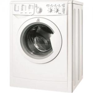 אונליין מכונת כביסה פתח חזית 7 ק''ג 1000 סל''ד Indesit IWC-71051C - צבע לבן - אחריות יבואן רשמי ניופאן