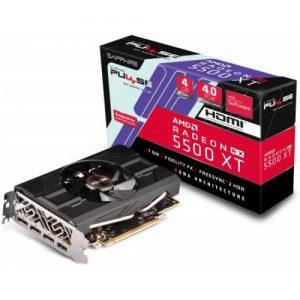 אונליין   Sapphire Radeon RX 5500 XT SF PULSE 4GB GDDR6 HDMI 3xDP