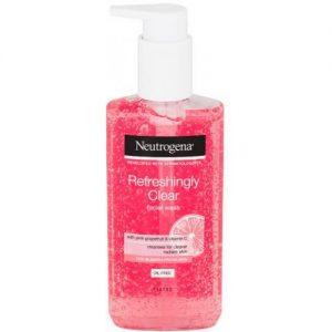 אונליין   Neutrogena Refresh Clear Pink Face Wash  200 ''