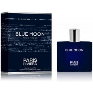 """אונליין   100 """" Paris Riviera Blue Moon    E.D.T"""