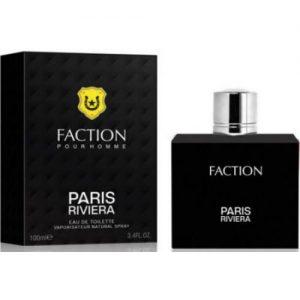 """אונליין   100 """" Paris Riviera Faction    E.D.T"""