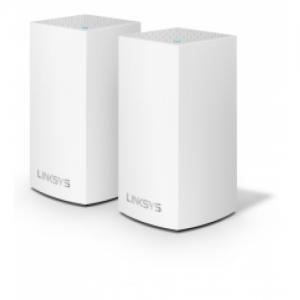 אונליין  (2 ) LinkSYS Velop Whole Home WHW0102 Dual Band AC2600 Wi-Fi 2600Mbps