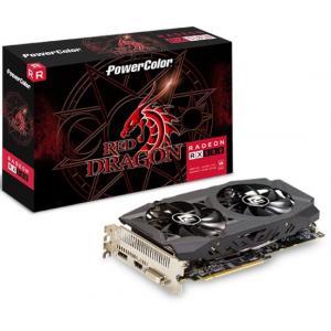 אונליין   PowerColor Radeon RX 580 Red Dragon 8GB GDDR5 HDMI DVI 3XDP