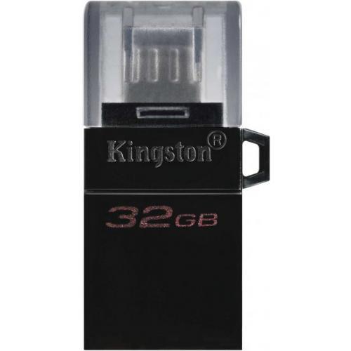 אונליין   Kingston DataTraveler microDuo 3.0 G2 32GB microUSB / USB Type-A DTDUO3G2/32GB