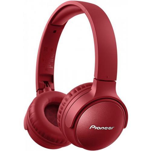 אונליין   On-ear  Pioneer S6 Active Noise-Cancelling SE-S6BN-R Bluetooth -