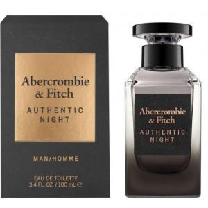 אונליין   100 '' Abercrombie Fitch Authentic Night    E.D.T