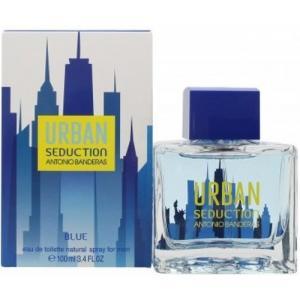 אונליין   100 '' Antonio Banderas Urban Seduction Blue    E.D.T