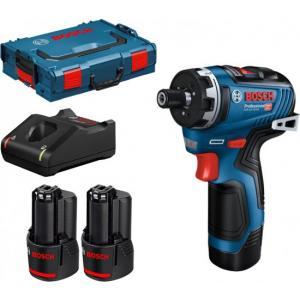 אונליין /   Bosch GSR 12V-35 HX 12V +  + 2  3Ah +  L-BOXX