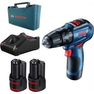 אונליין /   Bosch GSB 12V-30 12V +  + 2  2Ah +  L-BOXX