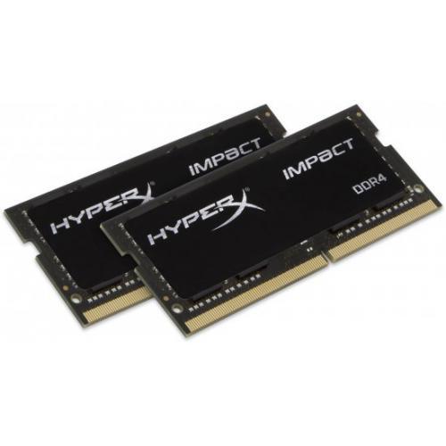 אונליין    HyperX Impact 2x8GB DDR4 2666Mhz CL15 SODIMM Kit