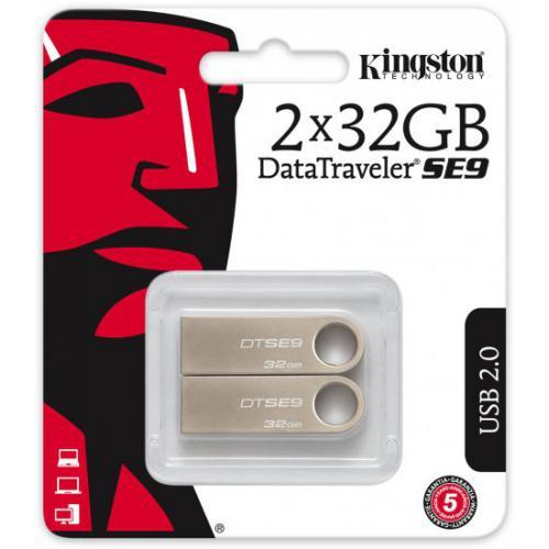 אונליין  2   Kingston DataTraveler SE9 32GB USB 2.0