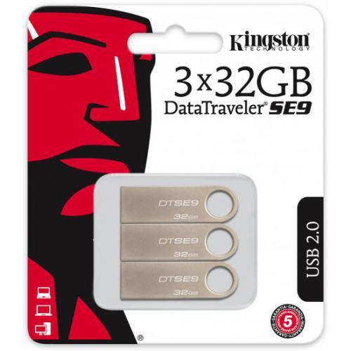 אונליין  3   Kingston DataTraveler SE9 32GB USB 2.0