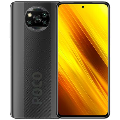אונליין   Xiaomi Poco X3 6GB+128GB  Shadow Gray -     ''