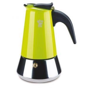 אונליין מקינטה 6 כוסות Pezzetti מותאמת לכיריים אינדוקציה - צבע ירוק
