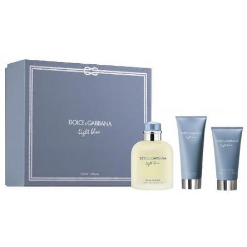 אונליין    125 '' Dolce & Gabbana Light Blue     E.D.T +   75 '' + '  50 ''