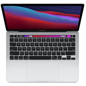 אונליין  Apple MacBook Pro 13 M1 Chip 8-Core CPU 8-Core GPU 256GB Storage -  Silver -  MYDA2HB/A
