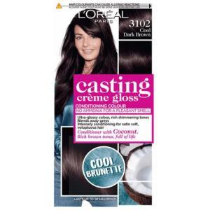 אונליין   Loreal Casting 3102 Gloss Cream Cold Dark Brown