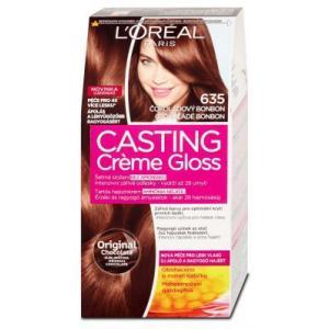 אונליין   Loreal Casting 635 Gloss Cream Cream Brown Chocolate -