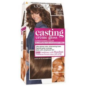 אונליין   Loreal Casting 503 Gloss Cream Refined Natural Brown -