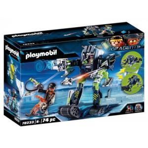 אונליין   Playmobil Top Agent Spy 70233
