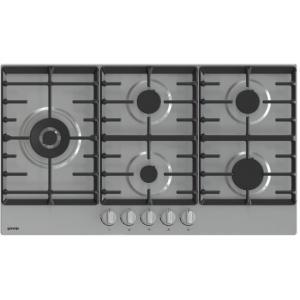 אונליין כיריים גז 5 להבות בישול בגימור נירוסטה 90 ס''מ Gorenje GW951X