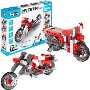 אונליין   5  Engino Inventor -  ''Custom Bike''