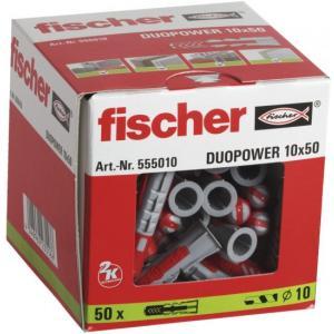 אונליין  50  ()  10x50 '' Fischer DUOPower