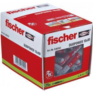 אונליין  25  ()  10x80 '' Fischer DUOPower