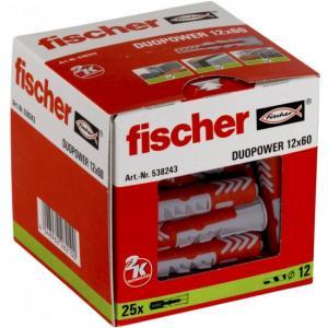 אונליין  25  ()  12x60 '' Fischer DUOPower
