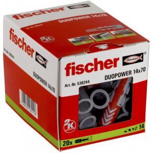 אונליין  20  ()  14x70 '' Fischer DUOPower