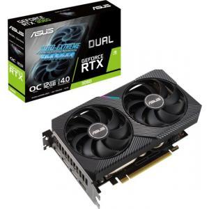 אונליין   ASUS Dual RTX 3060 V2 OC 12GB GDDR6 HDMI 3xDP