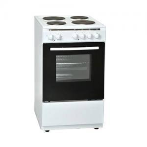 אונליין תנור אפיה צר משולב כיריים חשמליות 62 ליטר Normande KL-6060FE צבע לבן