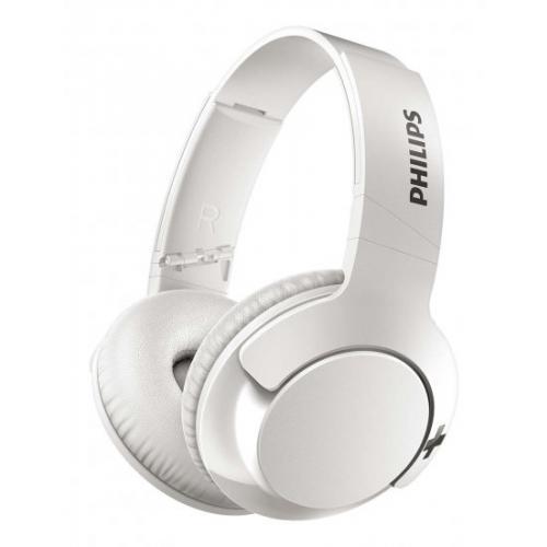 אונליין   Over-Ear  Philips BASS+ SHB3175WT Bluetooth -