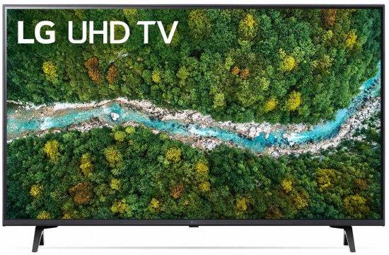 טלוויזיה חכמה LG 43'' UHD 4K Smart Led TV 43UP7750PVB