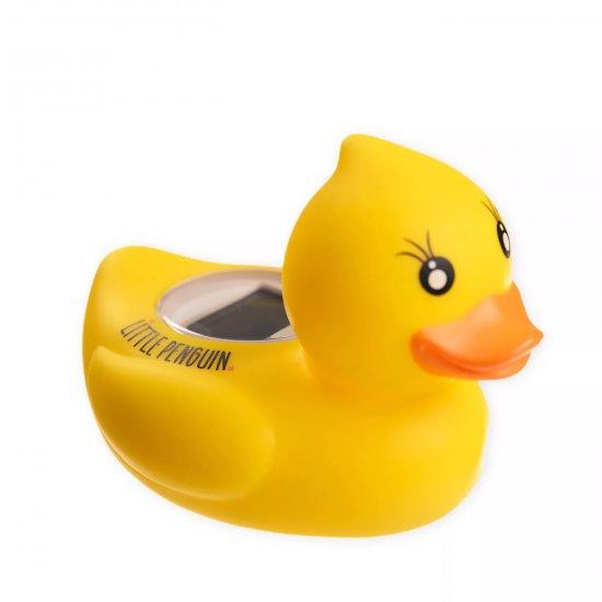 מד חום לאמבטיה – ברווז - Little Penguin - צבע צהוב