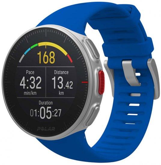 מציאון ועודפים - שעון מולטי ספורט Polar Vantage V Pro M/L - צבע כחול