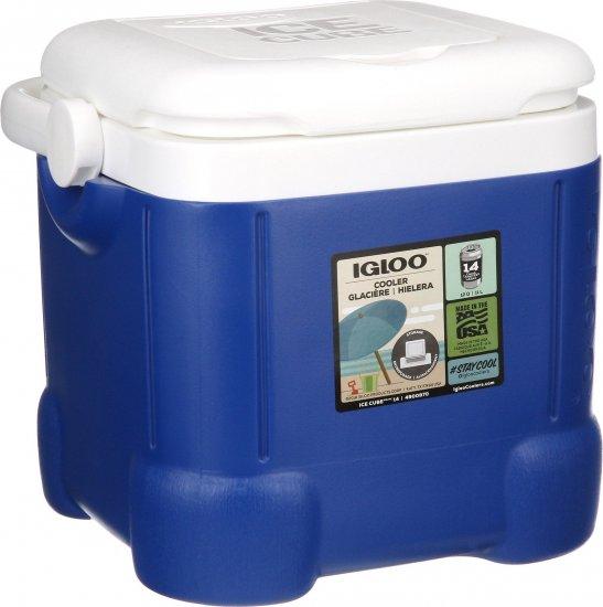 צידנית קשיחה 11 ליטר Igloo Ice Cube - צבע כחול