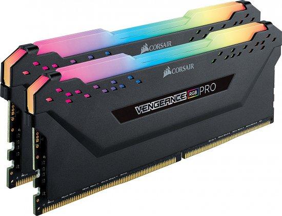 מציאון ועודפים - זיכרון למחשב Corsair Vengeance RGB PRO 2x8GB DDR4 2666MHz CL16